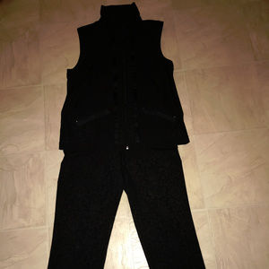Zenergy By Chicos Pants With Matching Zip Up